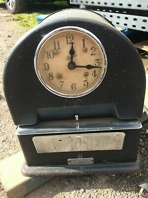 Simplex Clock - Time Recorder vintage electrical