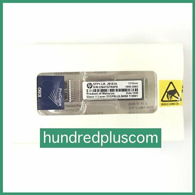 BRAND NEW J9151A HP X132 10GBASE-LR SFP 1310nm 10km Transceiver Module 1 YEARWRT