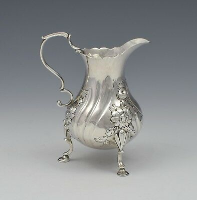 George II Silver Baluster Cream Jug David Hennell I Georgian