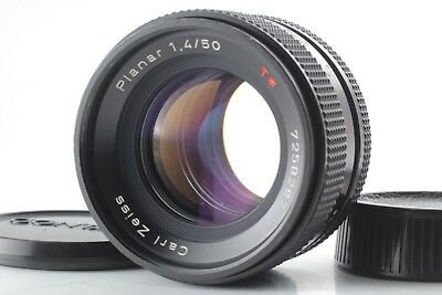 【Exe++++】 Contax Carl Zeiss Planar T* 50mm F/1.4 MMJ Lens from Japan #G167