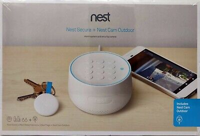 Brand New Nest Secure Alarm System + Nest Cam Outdoor, Brand NEW, FREE shipping