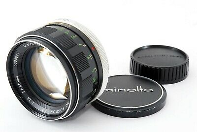 Minolta MC ROKKOR-PF 58mm f/1.4 Lens Flee Shipping Japan [Exc+] #418006A