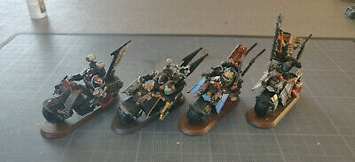 Warhammer 40K space marines dark angels QG Ravenwing X4