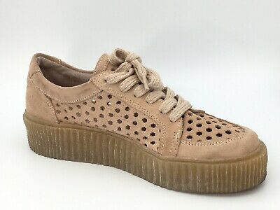 effef6a556e Musse   Cloud Womens Size 9 M Sneakers Perforated Suede Shoes EU 40 Platform