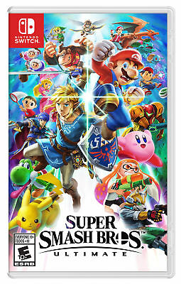 Super Smash Bros. Ultimate (Nintendo Switch, 2018) COMPLETE