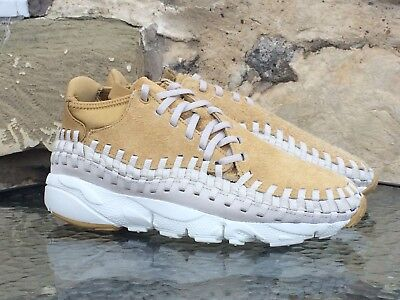 7a7c7c7f35c62 Nike Air Footscape Woven Chukka QS PRM UK 9 Flat Gold max 95 DS deadstock