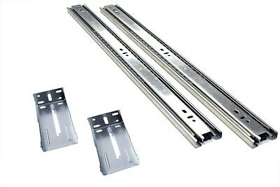 """22"""" Full Extension, Ball Bearing Drawer Slide with Rear Brackets 10 pair"""