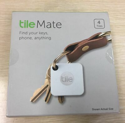 Tile Mate - Find your keys, phone, anything - 4 Pack