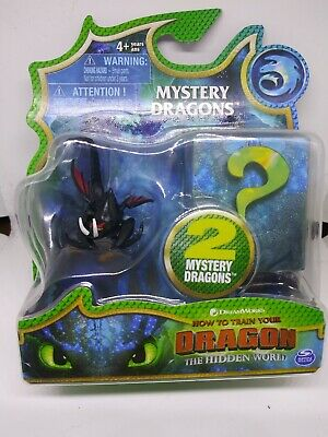 🔥How To Train Your Dragon Hidden World Mystery Dragons Deathgripper Mini New.