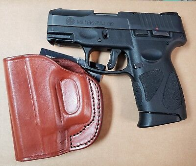 CEBECI IWB RIGHT brown leather holster Fits Taurus