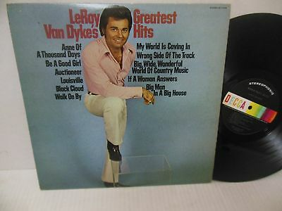 LEROY VAN DYKE nr mint vinyl lp GREATEST HITS