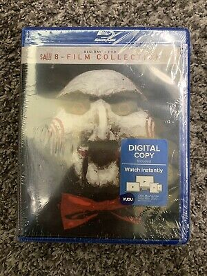 Brand New Saw 8-Film Collection Blu-ray + DVD 2018 Unrated