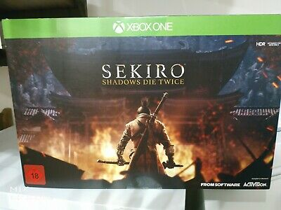 Sekiro Shadow Die Twice Limited Collector's Edition Xbox One New