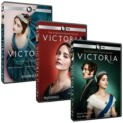 Masterpiece: Victoria Season 1-3 (UK-Length Edition) (DVD, 9-Disc Set) Preorder