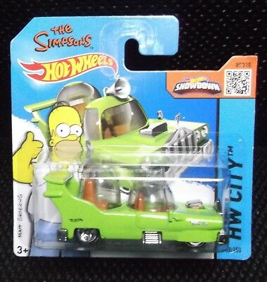 Hot Wheels 2015 HW City 58/250 The Simpsons - The Homer