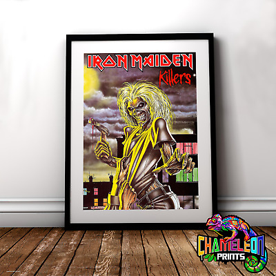 Iron Maiden Killers Poster A4/A3 Iron Maiden Poster