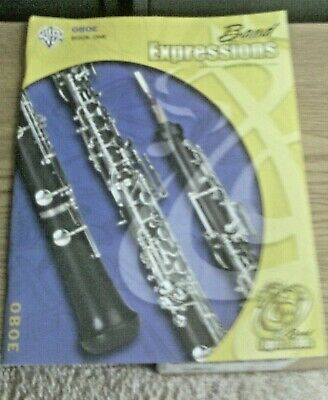 Band Expressions for Oboe Book 1 with CD by Alfred Publishing