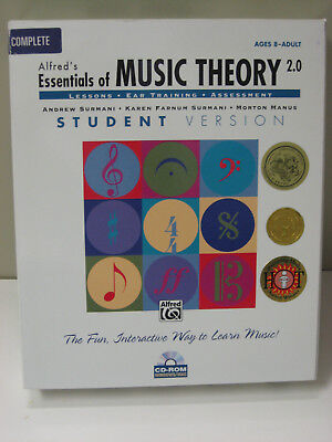 Alfred's ESSENTIALS OF MUSIC THEORY 2.0 CD-ROM Complete Windows/Mac Student Vers