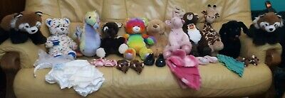 Build-A-Bear Workshop - variety of clothes, shoes and soft toys