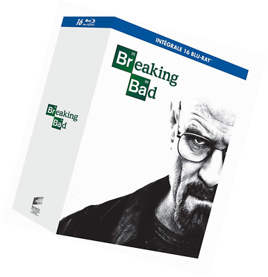 Breaking Bad: The Complete Series (16 Discs) [Blu-ray] Walter White Fr + English