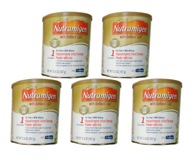Nutramigen with Enflora LGG for Cow's Milk Allergy Powder 5can for Babies 0-12 M