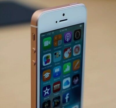 Apple iPhone SE - 32GB - Rose Gold -(Factory Unlocked) - Superb Condition !