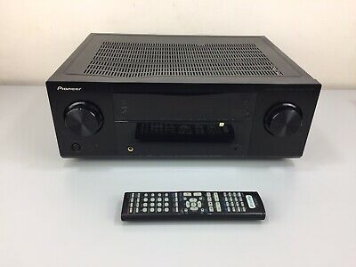 PIONEER VSX-521 K HDMI ARC 3D 5.1 Cinema Amp Receiver Dolby/DTS HD Remote