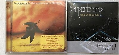 Supertramp -  Crime Of The Century Deluxe Edition Promo Cd + Anthology 2 X Cd