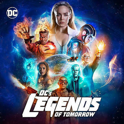DCs Legends of Tomorrow: The Complete Third Season (DVD, 2018) New Sealed
