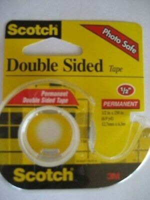 Scotch Double Sided Photo Tape 1292. MCO 136