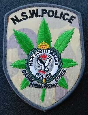 NSW Police Drug Squad Camo patch (Social Not Official)