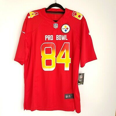 a4c4c5112 Nike NFL Pittsburgh Steelers Antonio Brown Jersey L Pro Bowl 84 - New w   Defect