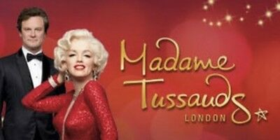 2 Madame Tussauds E-tickets Sunday 31st March At 9.00am (Mother's Day)