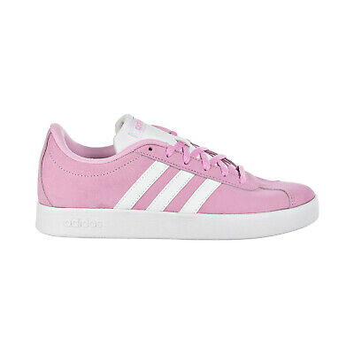 Adidas VL Court 2.0 Kids Shoes Pink-White BC0279