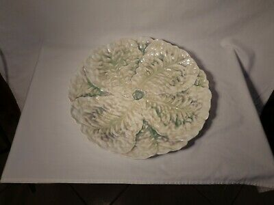 "Beautiful Royal Bayreuth Hp Lobster Series Molded Lettuce13"" Serving Platter -Nr"