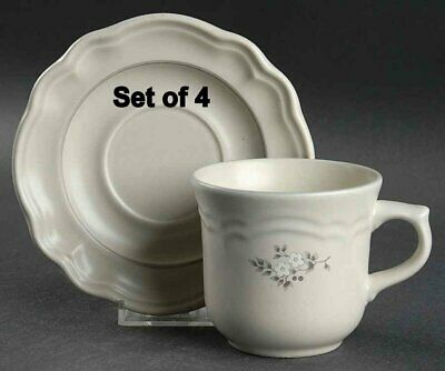 PFALTZGRAFF Heirloom COFFEE CUPS AND SAUCERS SET OF 4