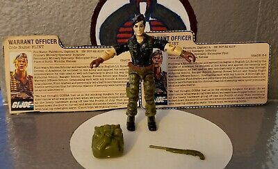 GI Joe ☆ 1985 Flint ☆ 100% Complete w/filecards ☆AWESOME CONDITION☆