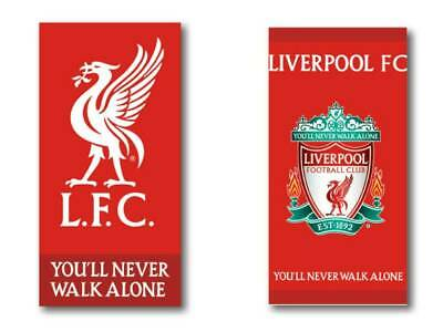 Liverpool Football Club LFC Beach Towel 2 designs Red Boys Girls & facecloths