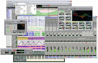 AVID Digidesign PRO TOOLS 7.3/7.3.1 LE GENUINE DVDs W ACTIVATION WITH CONTENTS