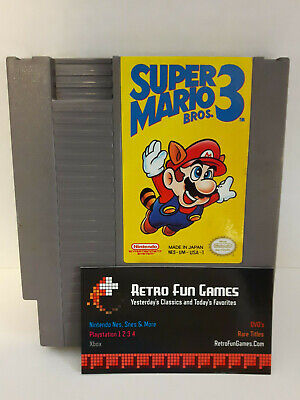 Super Mario Bros 3 Nes Nintendo (Origional, Authentic, Free Shipping)