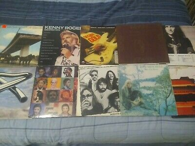Rock Vinyl LP Lot of 10