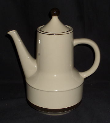 "Sears STONEWARE STRAWBERRIES *10"" COFFEE POT w/LID*"