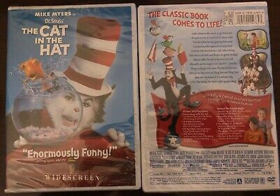Dr. Seuss The Cat in the Hat (DVD 2004, Widescreen Edition) Mike Myers BRAND NEW