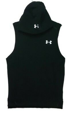 2dc4d3cdaa5568 NEW UNDER ARMOUR Project Rock Threadborne Small Sleeveless Hoodie ...