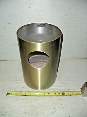 Vintage Aluminum COMMERCIAL GARBAGE CAN ASH TRAY United Metal Receptacle Corp