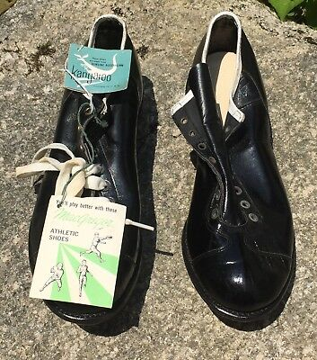 RARE Vintage Macgregor Football Cleats Shoes Kangaroo NOS With Tags