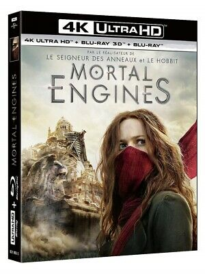 Mortal Engines (4K UHD + 3D + 2D Blu-ray) BRAND NEW