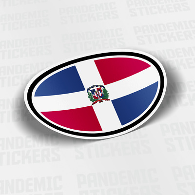 COUNTRY FLAG WITH COAT OF ARMS CAR DECAL VINYL STICKERS SCI-3125