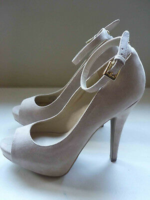 83c7fb0e8e8 G BY GUESS Valora Women US 7.5 Nude Peep Toe Platform Heel -  14.91 ...
