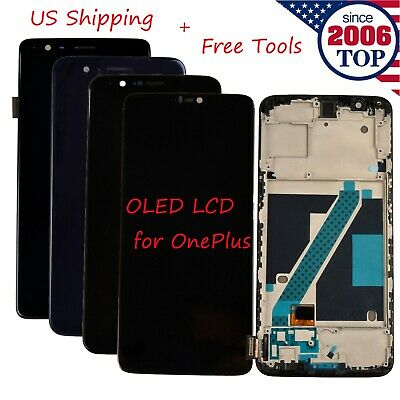 New OLED LCD Display Touch Screen Digitizer Assembly for OnePlus 1+ 3 3T 5 5T 6